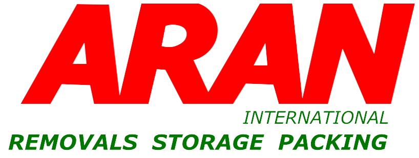 ARAN Logo - Storage and Removals